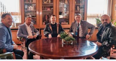 Карадайъ и Пеевски на среща с кмета на Велико Търново